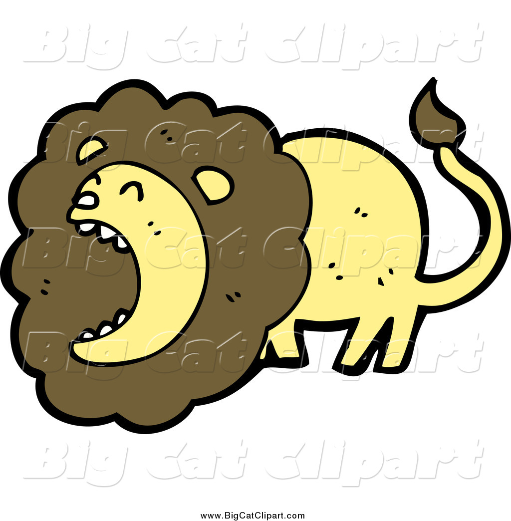 Royalty Free Lion Roaring Stock Big Cat Designs