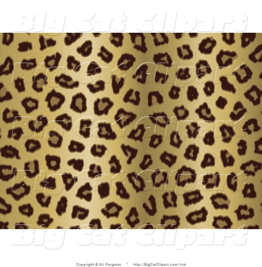 big cat clipart of a gold tan and black leopard spots background by kj pargeter 144. Black Bedroom Furniture Sets. Home Design Ideas