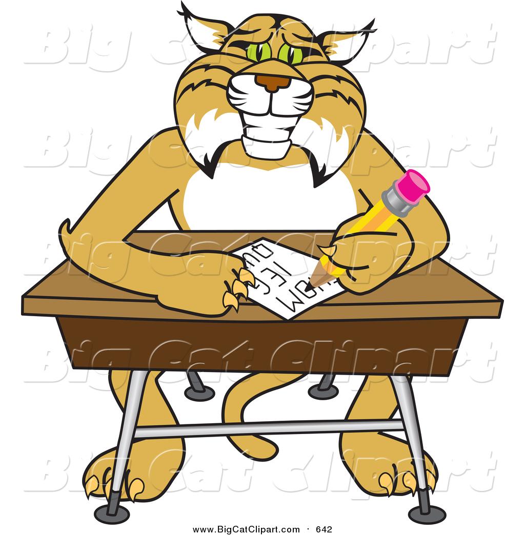 Student At Desk Clipart Hostgarcia