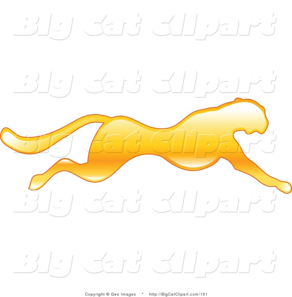 Running cheetah vector - photo#17