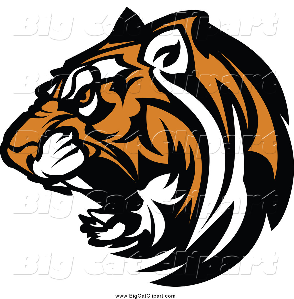 royalty free stock big cat designs of cats tiger head clipart images tiger head clipart black and white