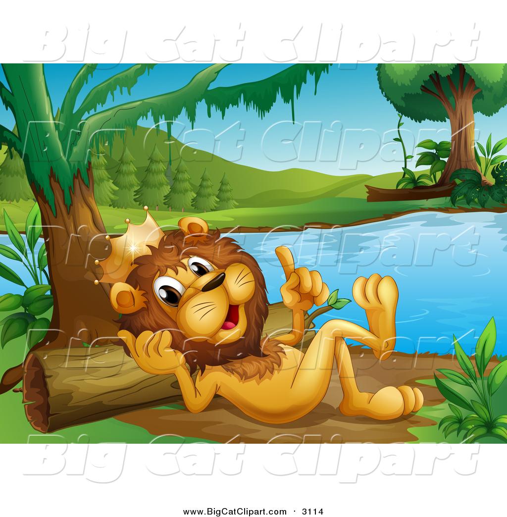 Vektorlinie cartoon animal Clipart River Common Otter Stock-Vektorgrafik -  Alamy
