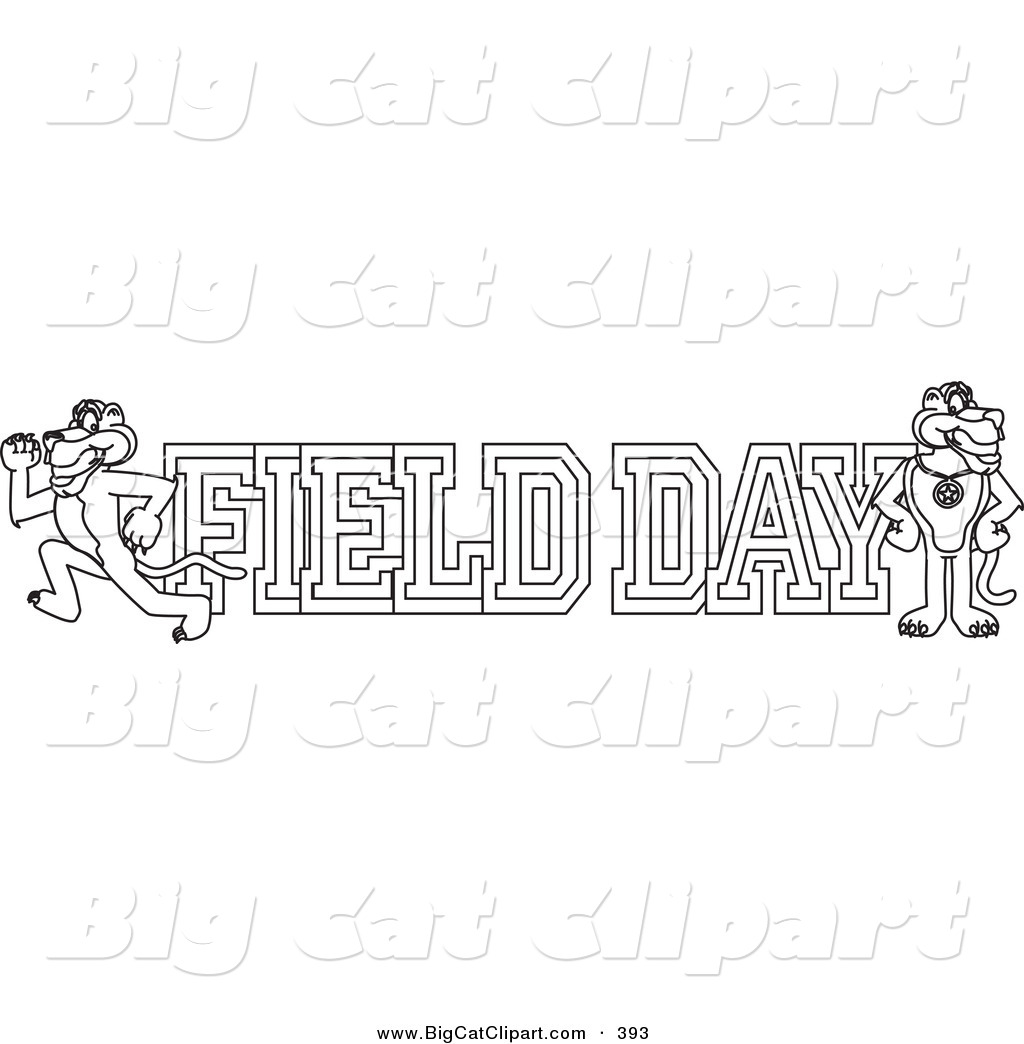 It is a picture of Mesmerizing Field Day Coloring Pages