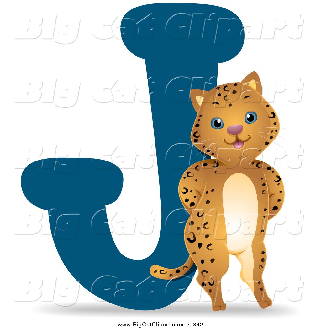 big cat vector clipart of a jaguar by a j by bnp design studio 842 rh bigcatclipart com jaguar clipart jaguar clip art images
